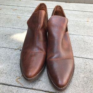 Steve Madden Brown Booties - Size 8 - EUC